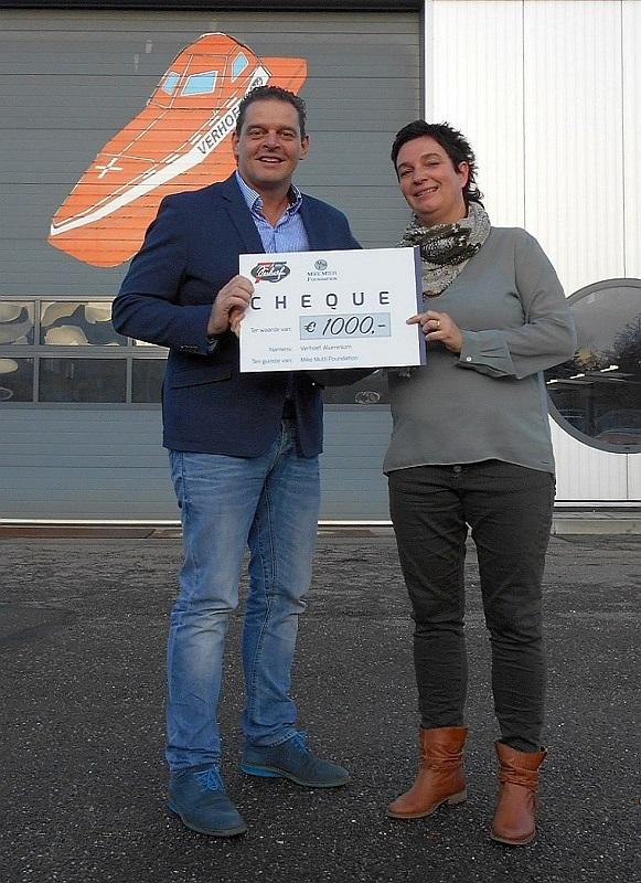 Donatie na bingo Verhoef Access Technology