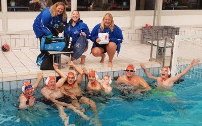 Nieuwe leden voor het G-Team waterpolo
