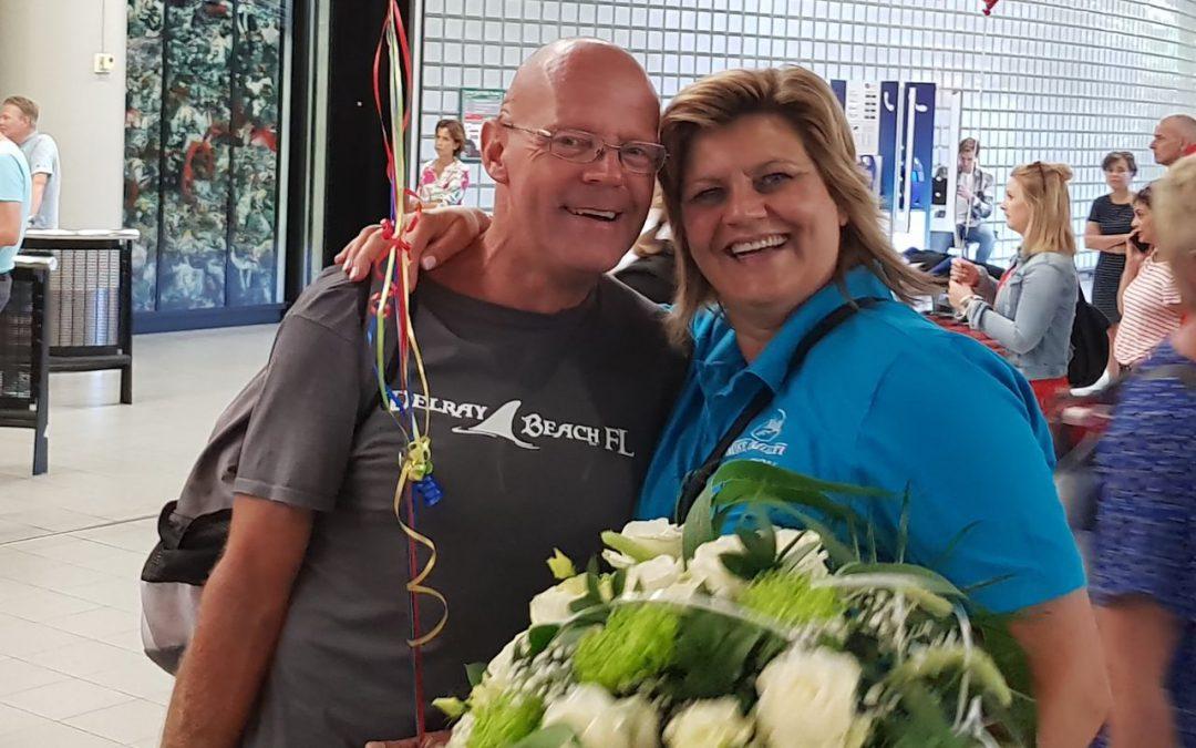 Dirk Raams fietst bedrag bij elkaar voor MMF