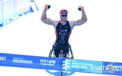Jetze Plat wereldkampioen in Australië