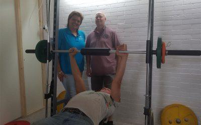 Fitnessapparaat voor Park Sport Massage Aalsmeer