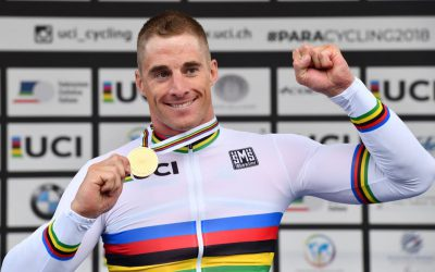 Jetze Plat wereldkampioen tijdrit in Italië