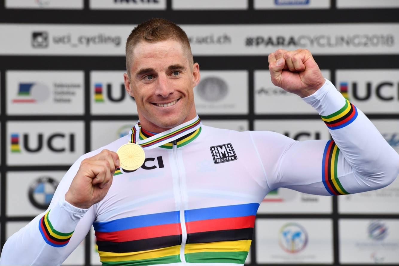Jetze Plat regerend tijdrit kampioen in Italië