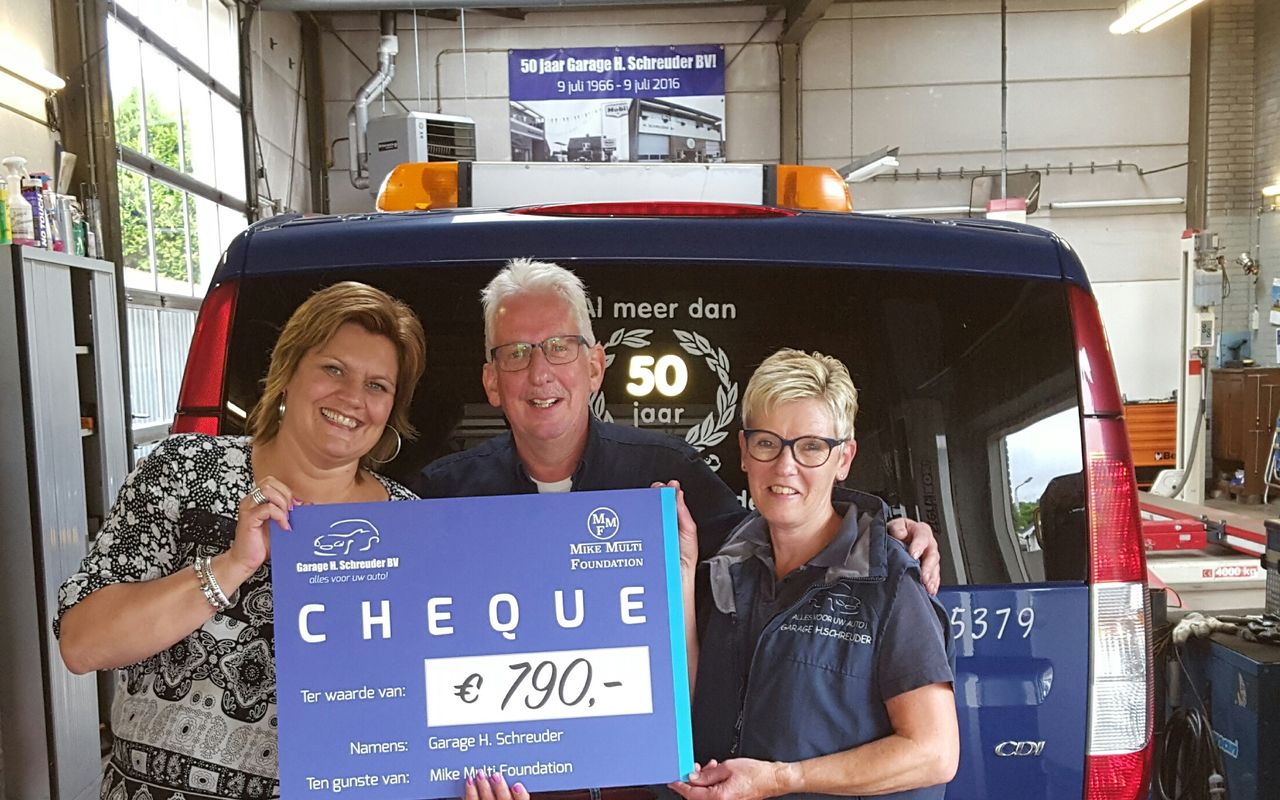 jubileum Han Schreuder donatie