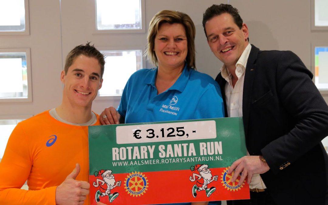 Rotary Santa Run doneert aan de MMF