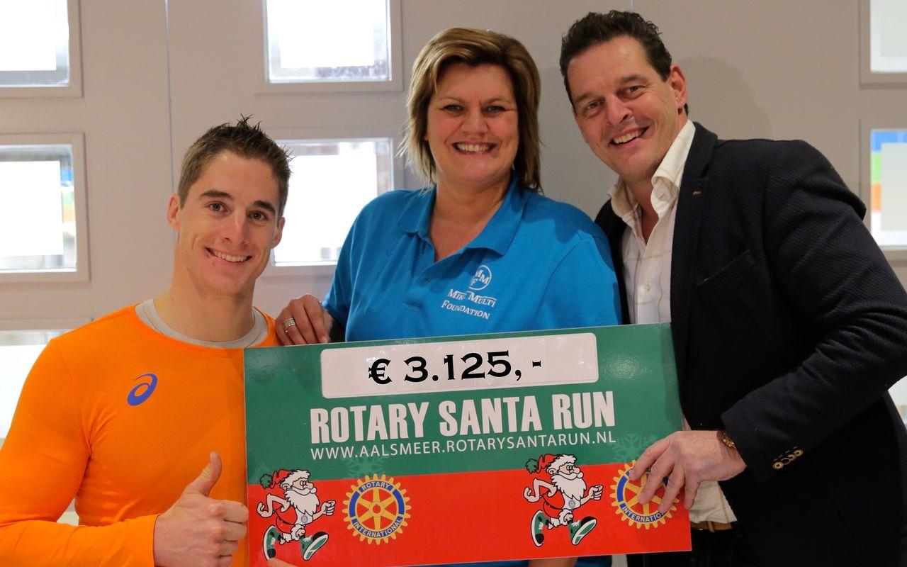 Rotary Santa Run doneert aan MMF