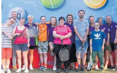 MMF steunt G-tennis bij Tennis vereniging Kudelstaart